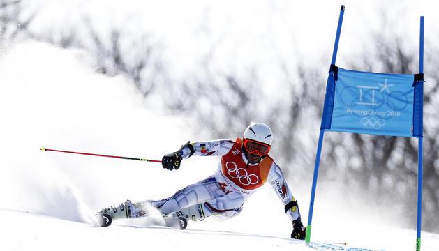 Joan Verdú durant els Jocs Olímpics de PyeongChang.