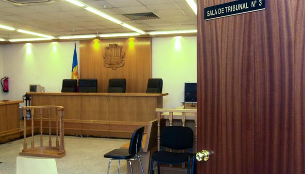 El judici al Superior es va celebrar a la sala número 3 de la Batllia.