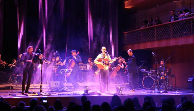 Concert de l'ONCA i Blaumut a Ordino.