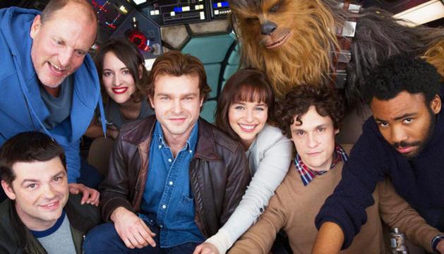 Els actors de la nova pel·lícula d'Star Wars
