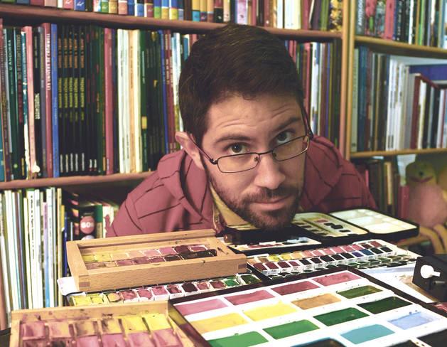 L'il·lustrador Xavier Casals