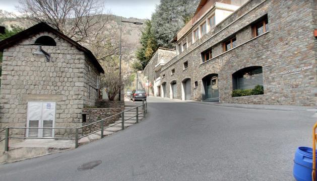 El carrer de Les Canals.