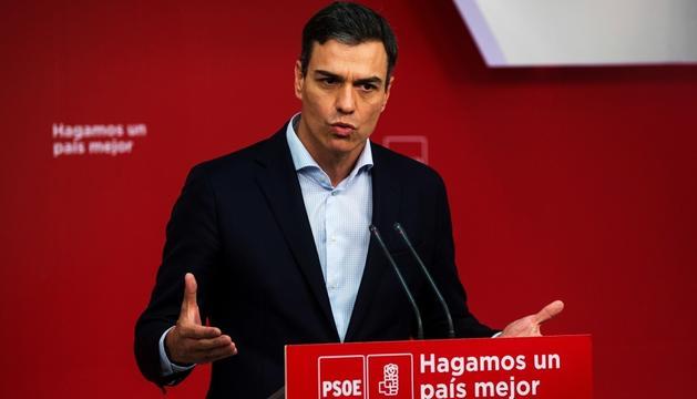 El PSOE va presentar la moció de censura divendres.
