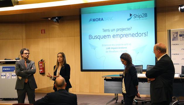 Sessió informativa del programa d'emprenedors LAB Impact Andorra