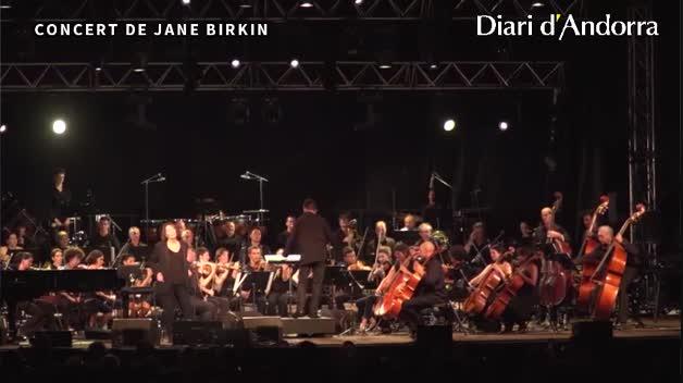Jane Birkin el 28 de novembre al Prat del Roure