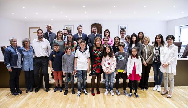 Els participants del segon Consell d'Infants d'Andorra la Vella