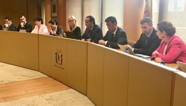 La sessió del consell de comú de la Massana s'ha celebrat aquest matí