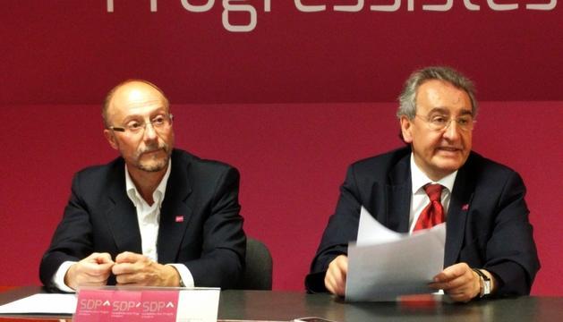 Víctor Naudi i Jaume Bartumeu van analitzar ahir l'actualitat política.