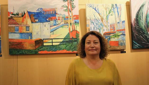 L'artista Annabel Alonso