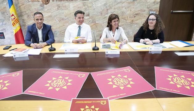 Presentació del programa Viu l'estiu d'Andorra la Vella