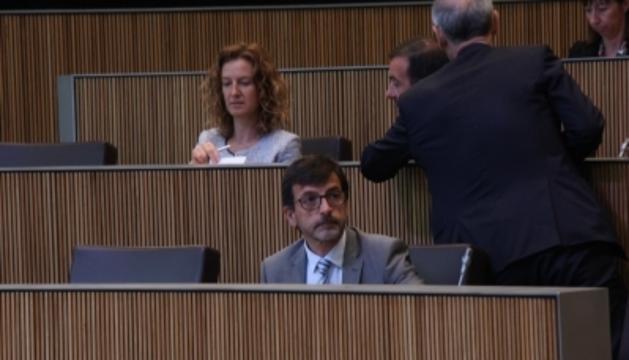 El ministre Jordi Cinca al Consell General, avui