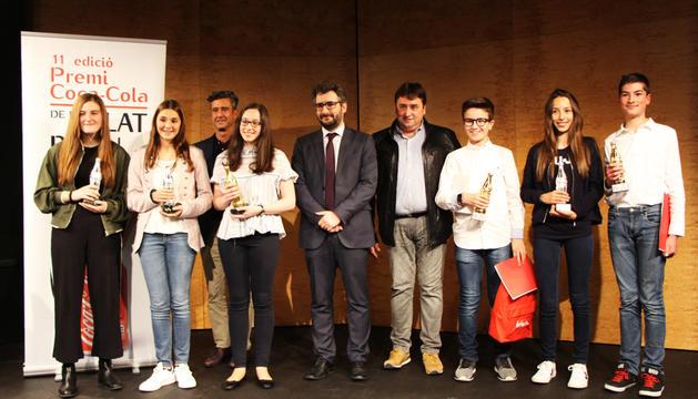 Gala dels onzens premis Coca-Cola de relat breu