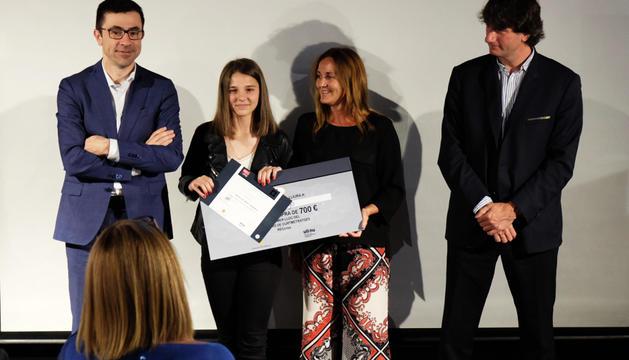 La ministra de Cultura, Olga Gelabert, va lliurar el premi.