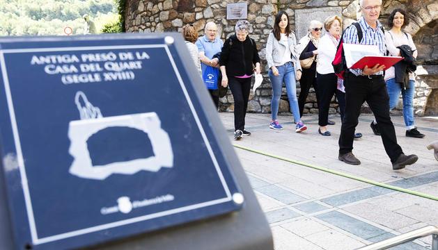 Els participants van visitar el centre històric de la capital.