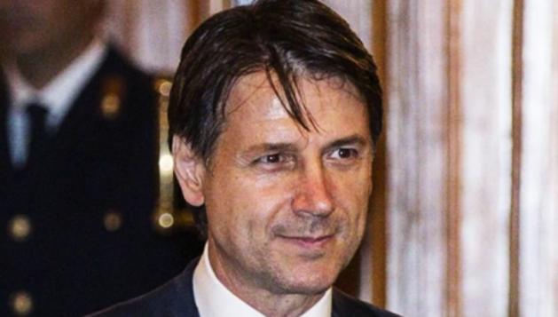 Giuseppe Conte, ahir.