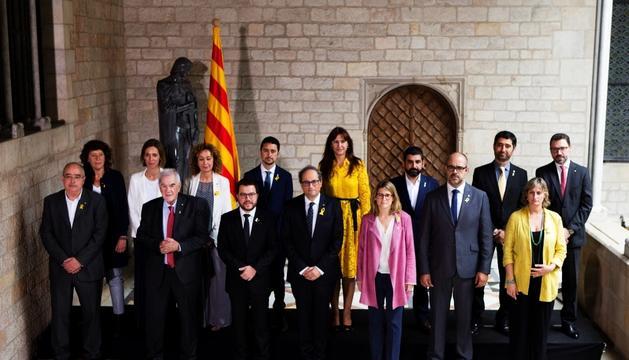 El Govern de Catalunya, presidit per Joaquim Torra, va recuperar ahir el control institucional.