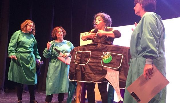 Una de les accions solidàries dels últims mesos: l'obra de teatre a favor de la donació d'òrgans.