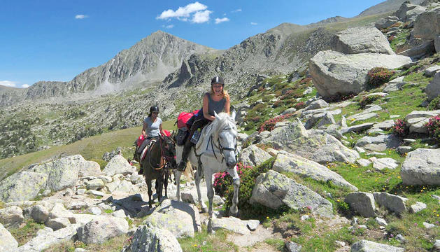 Les rutes a cavall són unes de les excursions amb demanda