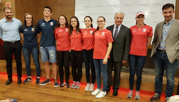 Nedadors premiats en la Copa d'Andorra