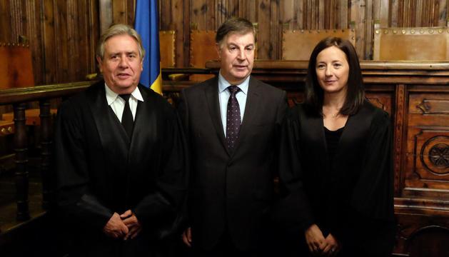 El president del Consell Superior de Justícia a la Casa de la Vall