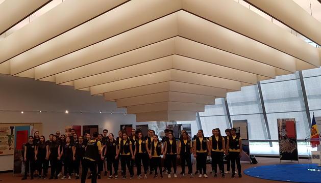 Els alumnes de l'Escola Andorrana de 2a ensenyança d'Encamp visiten Estrasburg