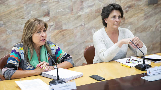 Conxita Marsol i Emi Matarrodona han valorat avui la sentencia del GAdA