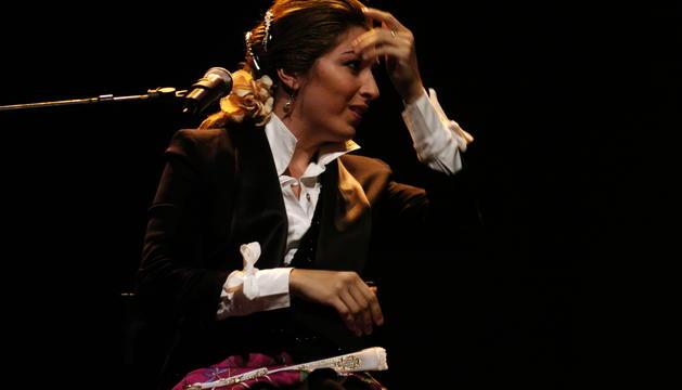 La 'cantaora', en el concert que va protagonitzar a Escaldes el 2007.