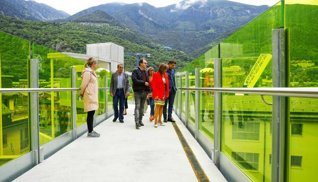 Nou accés a Príncep Benlloch per revitalitzar la zona