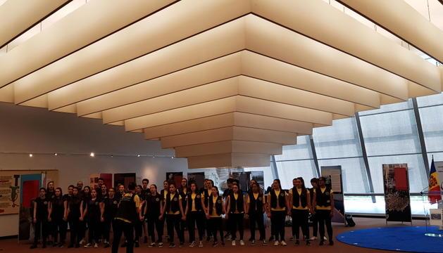 Alumnes de l'escola andorrana viatgen a Estrasburg