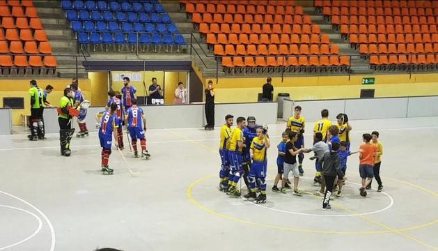 L'Andorra HC es va imposar per 2 a 4 al matx d'anada contra el filial de l'Olot.