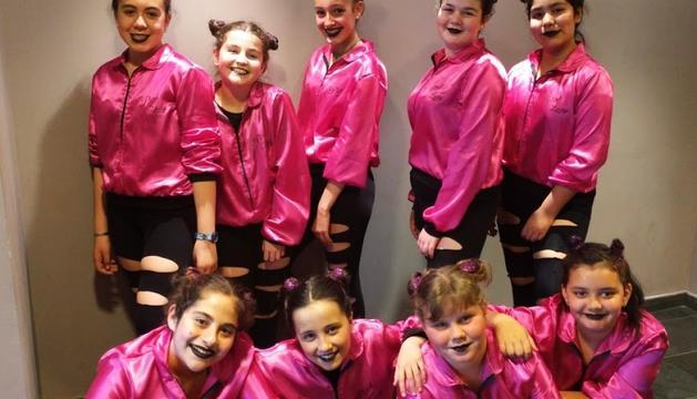 L'equip de les Pink Lady va venir de Puigcerdà.