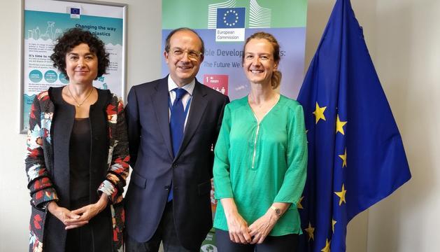 La ministra de Medi Ambient es reuneix amb el director general de Medi Ambient de la Comissió Europea