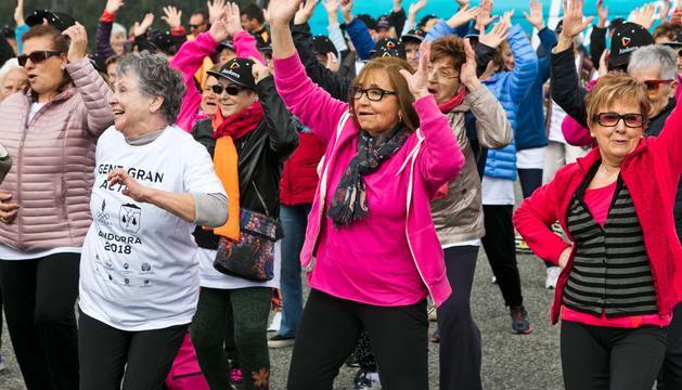 Dos-cents padrins gaudeixen de la jornada 'Gent Gran Activa' a La Massana