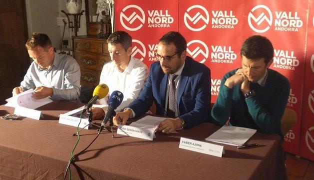 Marticella, Balielles, Serracanta i Ajona en la presentació de les activitats d'estiu