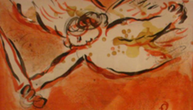 Il·lustració de la Bíblia realitzades per Chagall.