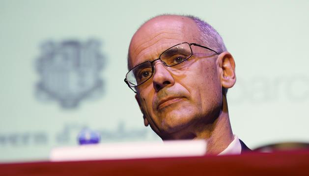 El cap de Govern, Toni Martí