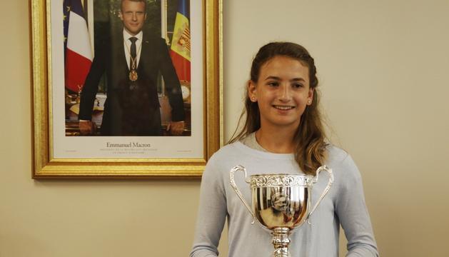 La tenista Vicky Jiménez