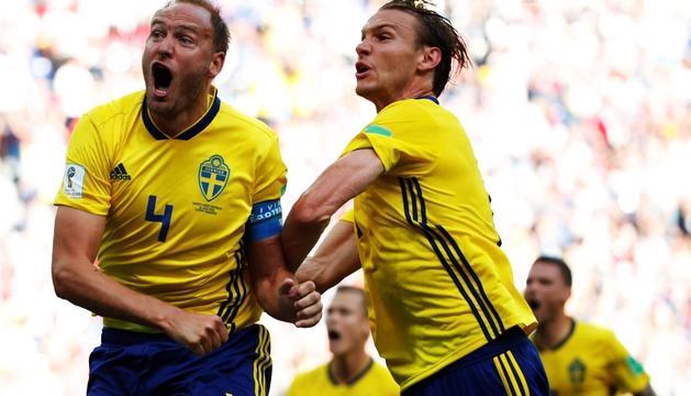 Celebració de la diana sueca.