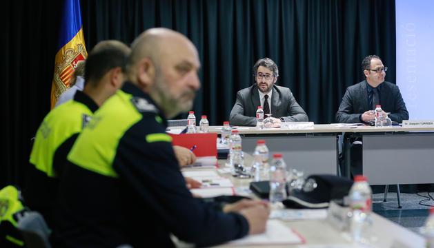 Reunió de la Comissió de seguiment del programa d'Educació Viària
