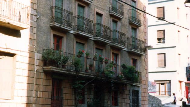 Hotel Pla, un dels primers hotels de la parròquia que va tenir balneari