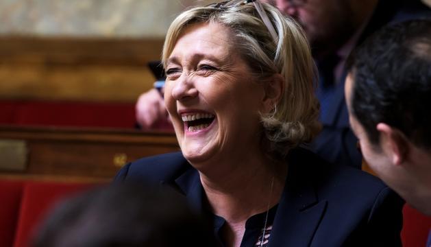 Marine Le Pen haurà de tornar els diners al Parlament Europeu.