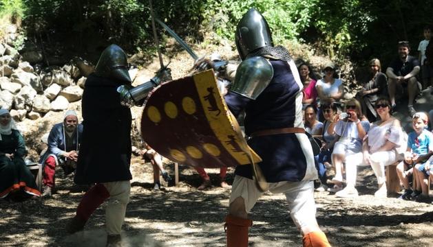 Viatge a l'època medieval des de la Margineda