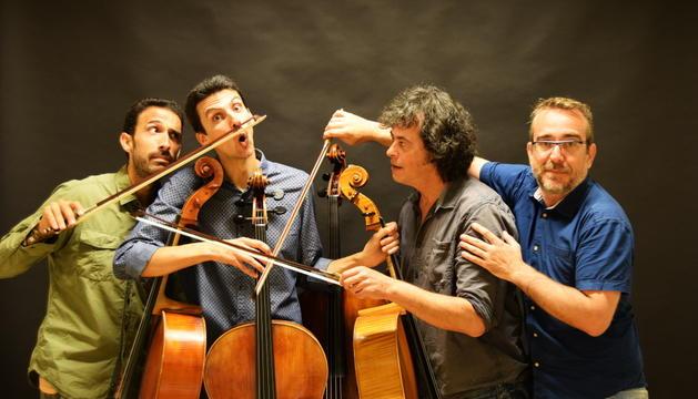 Concert als jardins de Casa de la Vall