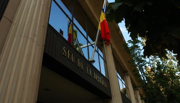 Imatge d'arxiu de la façana de la Seu de Justícia.