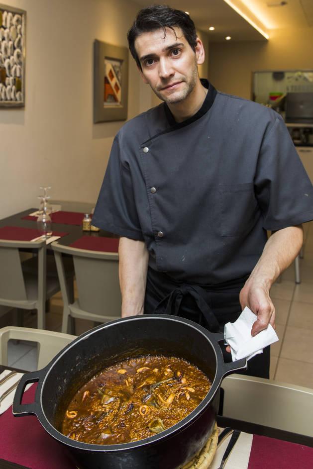 Alejandro Gabriel Callieri, xef del restaurant La Terreta