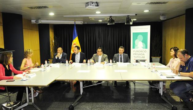 El patronal d'honor de la fundació es va reunir ahir a Govern.