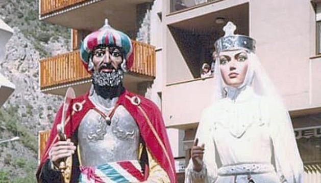 El Rei moro i la Dama blanca l'any 1983