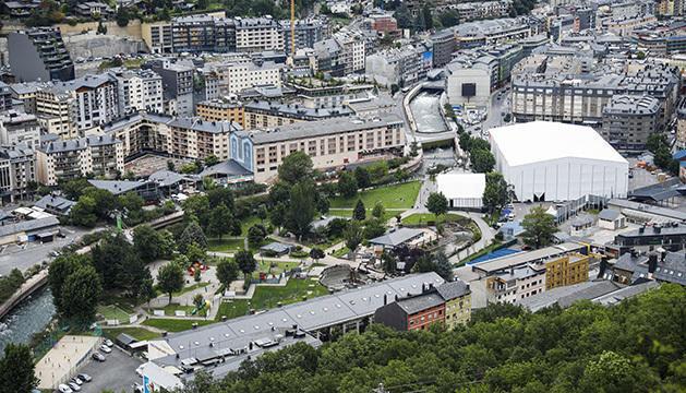 La Carpa del Parc Central on es va representa Diva by Le Cirque du Soleil