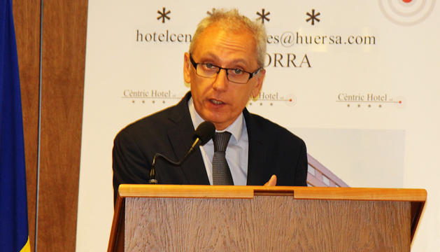 El ministre Francesc Camp.