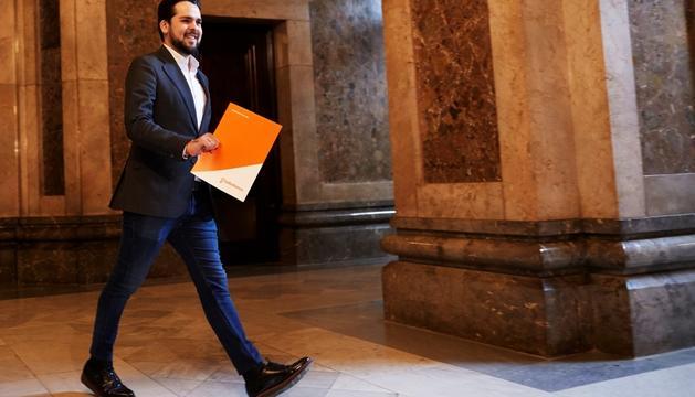 Fernándo de Páramo, portaveu adjunt al Parlament.